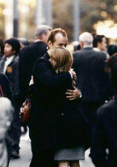 """Bill Murray and Scarlett Johansson in Lost in Translation, Sofia Coppola, dir. (2003) """