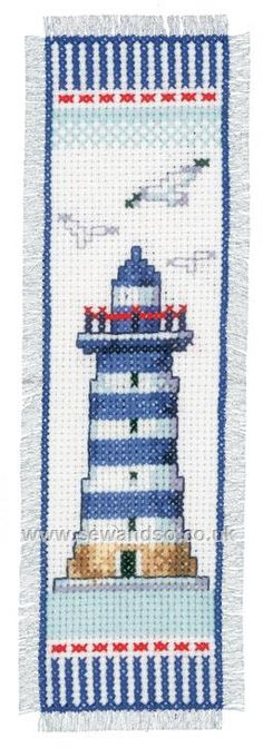 Shop online for Lighthouse Bookmark Cross Stitch Kit at sewandso.co.uk. Browse our great range of cross stitch and needlecraft products, in stock, with great prices and fast delivery.