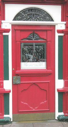 Entrance... by kankaku, via Flickr  Pub in Ireland