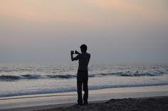 The evening photographer...