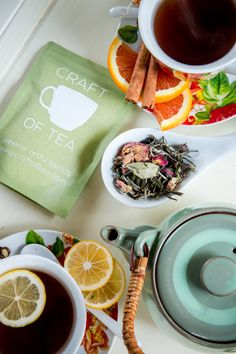 Craft Of Tea Calm & Refresh Tea