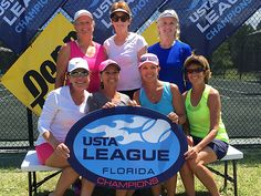 Pinellas Wins 2 at the 2016 USTA Florida League 55 & Over Sectionals Tennis