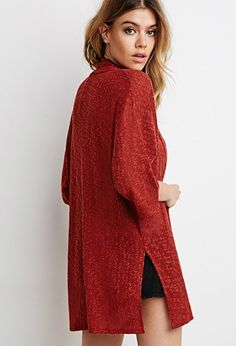 Textured Knit Cardigan | Forever 21 - 2002246813