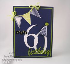 - a birthday card for my husband's friend using die cuts from my Cameo and images from Waltzingmouse Stamps! 60th Birthday Cards, Masculine Birthday Cards, Bday Cards, Birthday Numbers, Handmade Birthday Cards, Masculine Cards, Birthday Greeting Cards, Greeting Cards Handmade, Creative Cards