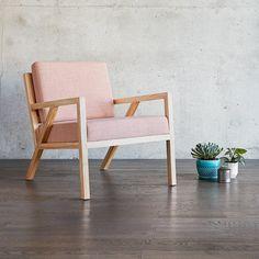 Truss Chair   Caledon Dahlia & Natural Ash