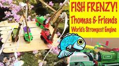 Fish Frenzie - Thomas & Friends World's Strongest Team Trackmaster