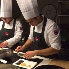 our students during pastry course