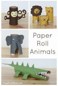 Toilet Paper Roll Crafts - Get creative! These toilet paper roll crafts are a great way to reuse these often forgotten paper products. You can use toilet paper rolls for anything! creative DIY toilet paper roll crafts are fun and easy to make. Projects For Kids, Diy For Kids, Craft Projects, Craft Ideas, Diy Ideas, Pallet Projects, Craft Activities, Preschool Crafts, Summer Activities