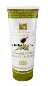 H&B Dead Sea Olive Oil and Honey #Cream by aJudaica