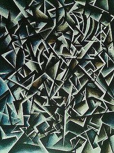 Cubist Kokopelli by Brandon Allebach