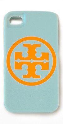 Tory Burch Logo iPhone 4 or 4S Hardshell Case Sky | eBay