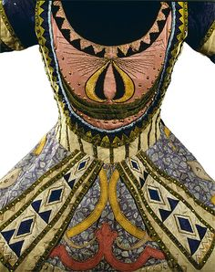 Leon Bakst, Diaghilev and the Ballet Russes, costume for the blue god.