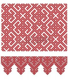 Serbian ancient weaving designs, patterns and traditional embroidery - Page 2