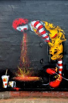 What's happend with Ronald?
