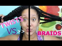 Twist Out vs. Braid Out - The Pros & Cons - For Long, Healthy Natural Kinky and Curly Hair - Your Dry Hair Days Are Over!
