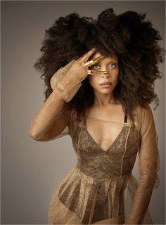 erykah badu as the lover of bleui and the squaaaw mentor Afro Punk, Ombré Hair, Big Hair, Black Girls Rock, Black Girl Magic, Black Guys, Black Power, My Black Is Beautiful, Beautiful People