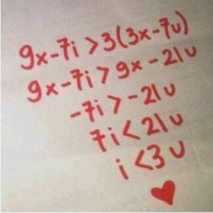 Using this for the bell ringer on Valentines day! The I love you equation = teaching algebra was good for something