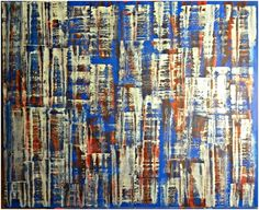 PAIN ABSTRACT OIL PAINTING UDINE
