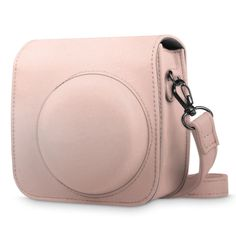 Fujifilm Instax Mini 8 / 8+ Instant Camera Case PU Leather Bag Cover - Rose Gold #UnbrandedGeneric