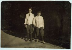 2 of the young table boys in Burke's ice cream parlor. Location: Birmingham, Alabama. | Library of Congress
