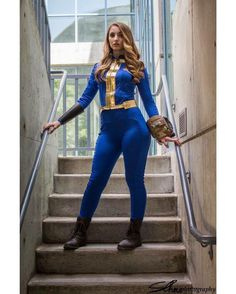 Cosplay Fallout, Fallout Costume, Cosplay Outfits, Cosplay Girls, Cosplay Costumes, Game Costumes, Anime Cosplay, Fallout Art, Fallout Props