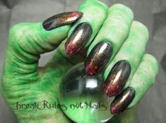 Wicked Witch Nail Idea