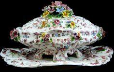 antique capodimonte porcelain plates pinterest - Pesquisa Google