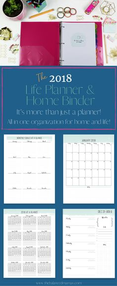 Keeping organized as a mom should be super easy! It will be with this life planner and home binder! Check out this easy to use home binder to keep track of all of those tasks around the home and cars! Home binder organization | Home binder management | Home binder organization management | Home binder organization printables | Home binder organization ideas | Stay at home mom planner | mom planner printables | Best mom planner products | Best mom planner families via @thebalancedmamas
