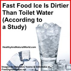 Fast Food Ice Is Dirtier Than Toilet Water (According to a Study) – Inc. Video