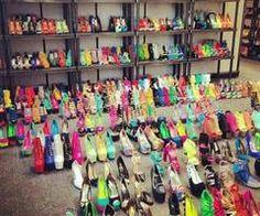 A secrey stash of shoes