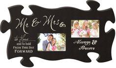 Wedding Puzzle Photo Frame