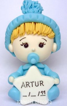 ♥ Kawaii Biscuit ♥: ♥ Tabela de preços - Maternidade Baby Chower, Baby Shower Crafts, Clay Baby, Pasta Flexible, Cold Porcelain, Anime Art Girl, Gum Paste, Cake Toppers, Baby Dolls