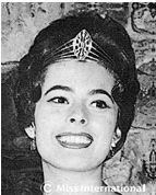 Miss International 1960: Colombia - Stella Márquez