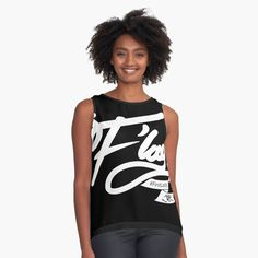 'FLay - Sleeveless Top by Jiggy Creationz Athletic Tank Tops, Chiffon, Female, Printed, Celebrities, Lady, Awesome, Shopping, Products