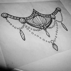 40 Trendy Ideas For Piercing Mamilo Feminino Desenho Mermaid Tattoo Designs, Mermaid Tattoos, Body Art Tattoos, Sleeve Tattoos, Cool Tattoos, Sea Life Tattoos, Sternum Tattoo, Mandala Tattoo, Serendipity Tattoo