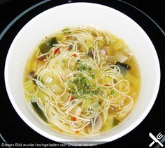 Chinesische Suppe pikant