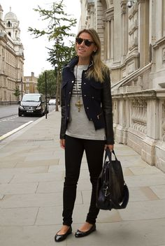glam4you - nati vozza - look - london - calça - skinny - chanel - zara - givenchy