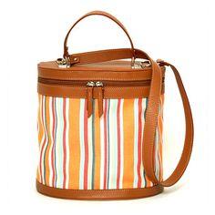 Virginia - Orange travel bag | Alexandra de Curtis