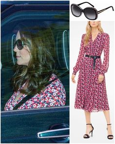 The Duchess of Cambridge and other members of the Royal Family were spotted leaving Windsor Castle today, after a rehearsal. Kate was…