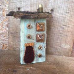 Whimsical Home Rustic Repurposed Tiny Home Folk Art Original A. Gambrel