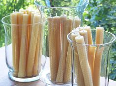 Hey, I found this really awesome Etsy listing at https://www.etsy.com/listing/100009649/natural-beeswax-tapers-two-candles-825