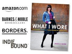 Jessica Quirk//What I Wore ... If any one wants to get me this book, I would love you forever.
