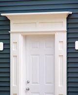 Colonial door trim. Another idea. & Colonial Front Door Trim - Bing Images | Home decorating ideas ... Pezcame.Com