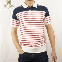 Famouse Uk.Greiff.Men's T-shirt men's fashion Striped Summer fashionTops Tees Short Sleeve t shirt Men
