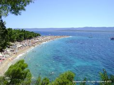 Zlatni Rat, one of the most beautiful beaches on the Adriatic is located on the island of Brac, in the town of Bol. Croatian Islands, Famous Buildings, Most Beautiful Beaches, Tourism, Vacation, World, Rat, Outdoor, Famous Structures