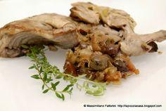 La Piccola Casa: Tajine di coniglio con olive taggiasche, santoreggia, semi di finocchietto macis al vermentino