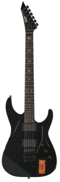 ESP KH-2 Vintage Kirk Hammet Signature Electric Guitar | Black Finish