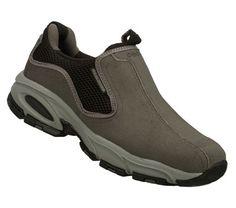 SKECHERS Mens Vigor 2.0 Legend Seeker Slip-on Sneakers - Grey - 7.5