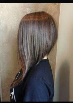 63 Refreshing Long Bob Hairstyles for 2019 Bob Hairstyles angled bob hairstyles Angled Bob Hairstyles, Long Bob Haircuts, Long Asymmetrical Hairstyles, Pixie Haircuts, Layered Haircuts, Medium Hairstyles, Celebrity Hairstyles, Hairstyles Haircuts, Braided Hairstyles