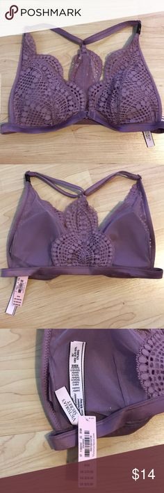 Victoria's Secret Bra NEW Victoria Secret bralette with tags. Never worn and in a smoke free home. Victoria's Secret Intimates & Sleepwear Bras